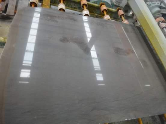 Grey Foussana Polished Limestone Slabs
