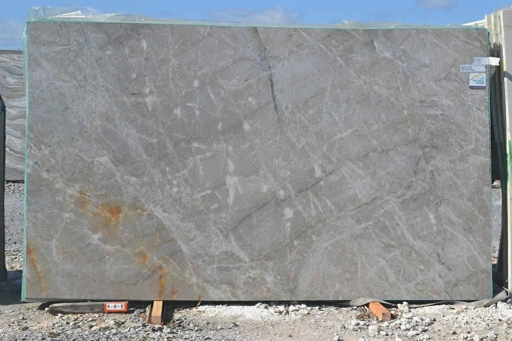 Grey Gabana Leathered Quartzite Stone Slabs