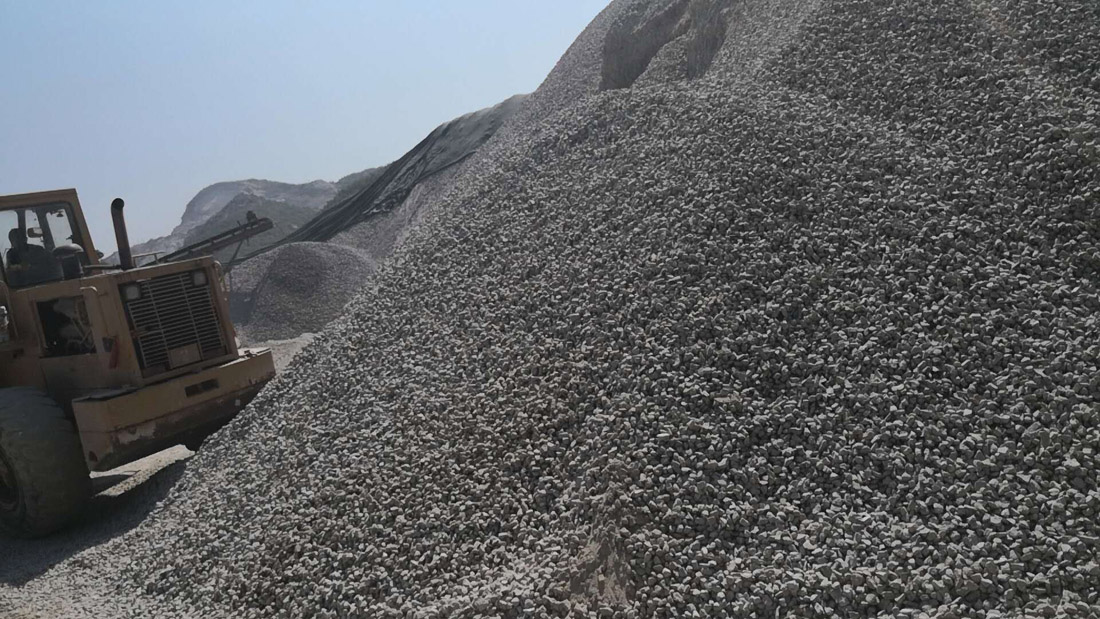 Grey Granite Aggregate Construction Crushed Gravel Crushed Stone