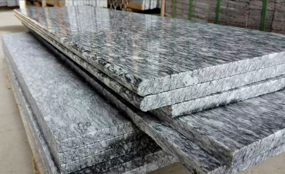 Grey Granite Polished Countertops