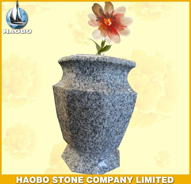 Grey Granite Vase HBV002