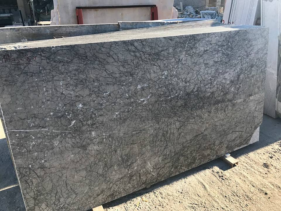 Grey Lido Marble Polished Slabs