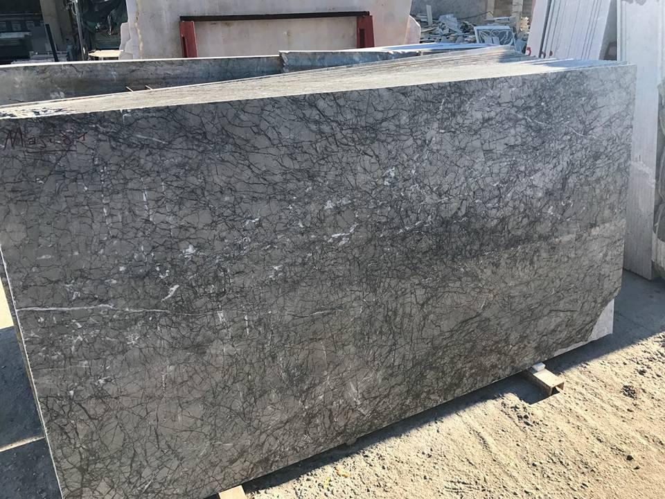 Grey Lido Marble Polished Slabs