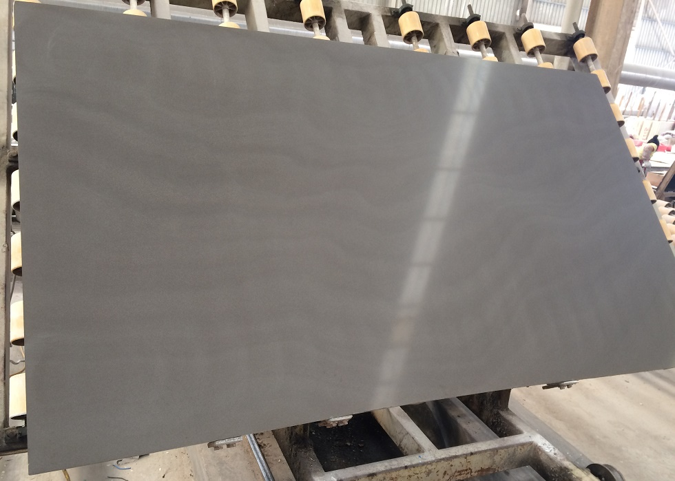 Grey Metallic Sandstone Slabs