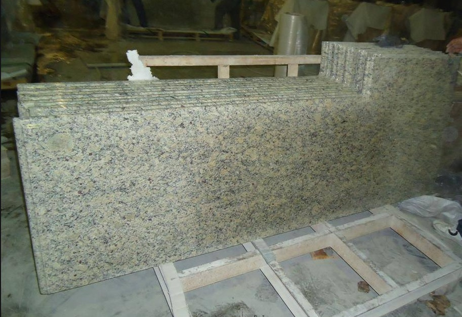 Grey Polished Granite Countertops