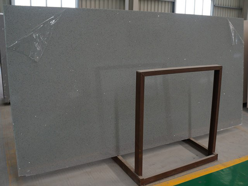 Grey Quartz Slabs Artificial Stone Slabs for Countertops