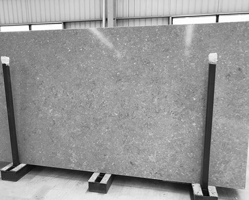 Grey Quartz Slabs for Kitchen Countertops Tops