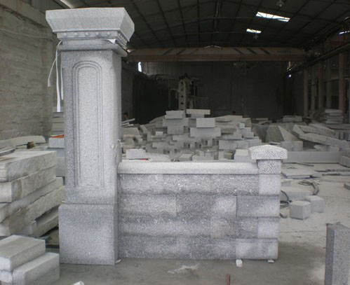 Grey Wall Stones Granite Wall Stones