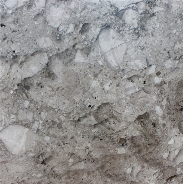 Grey Bubble Marble