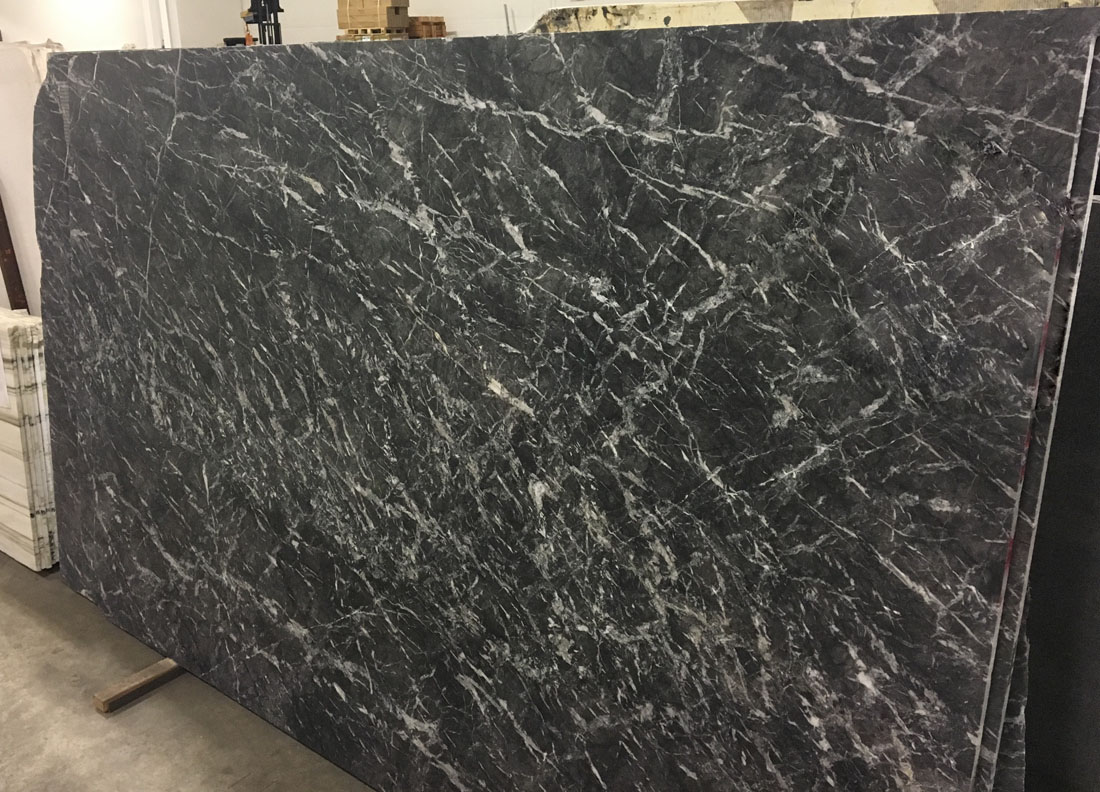 Grigio Carnico Slabs Polished Grey Marble Slabs for Decoration