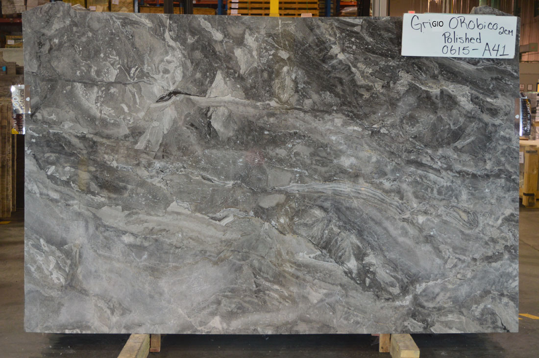 Grigio Orobico Marble Grey Marble Slabs from Italy