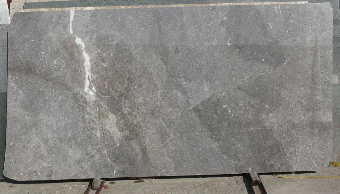 Grigio Perla Marble Slab Polished Grey Italy