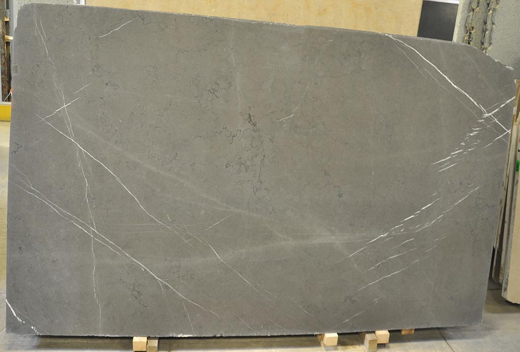 Grigio Piesantina Honed Limestone Slab Grey Limestone Slabs
