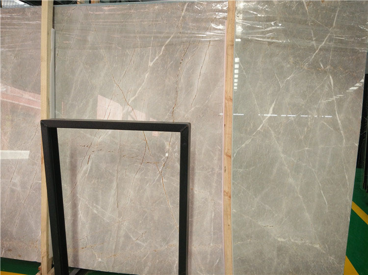 Guangxi Fior Dipesco Carnico Marble Polished Brown Marble Slabs