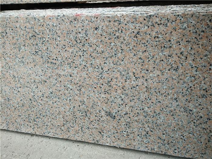 Guangxi Sanbao Red Granite Countertops Polished Pink Granite Tops