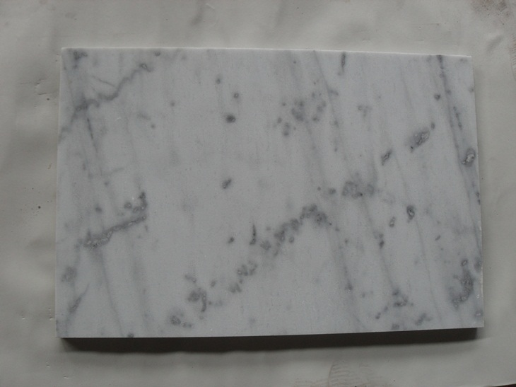 Guangxi White Marble Polished White Marble Tiles