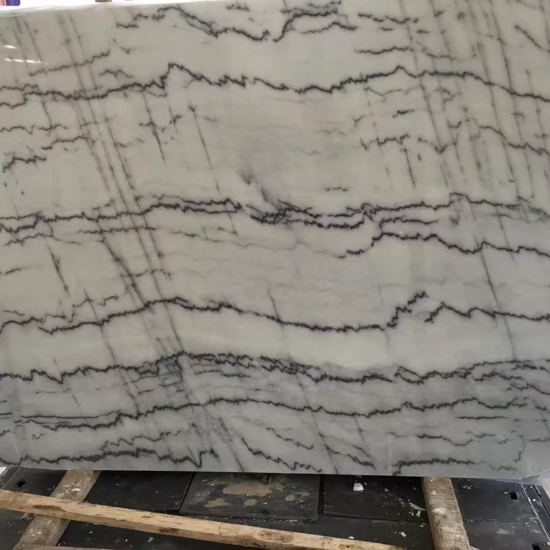 Guangxi White Marble Slab China White Marble
