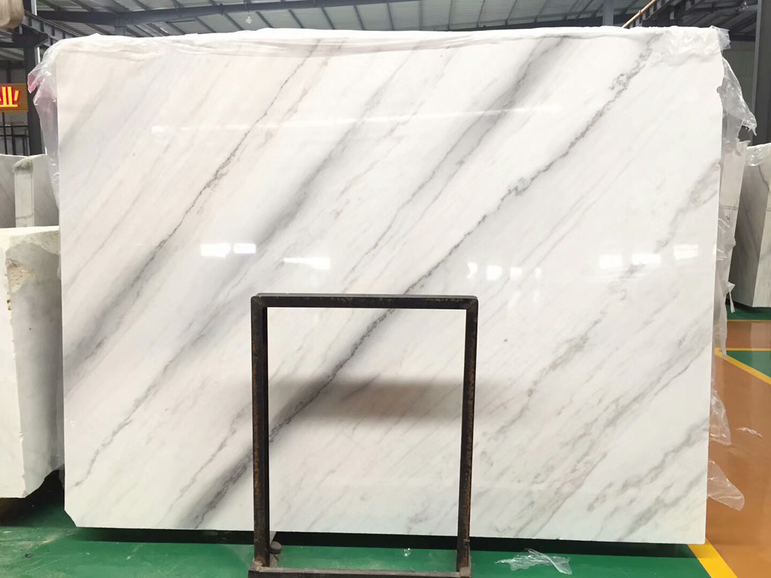 Guangxi White Marble Slabs Polished White Chinese Slabs