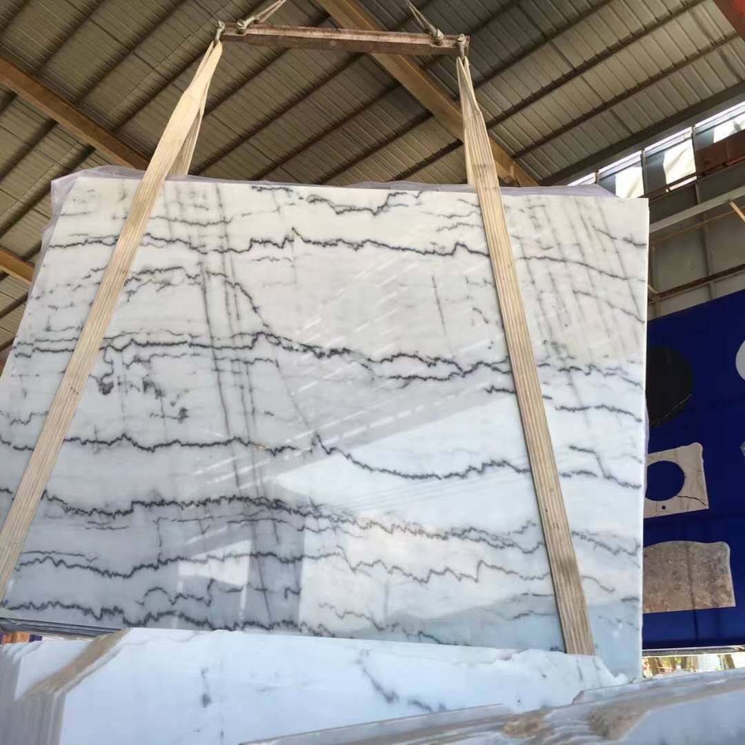 Guangxi White Marble Tile Slab China White Marble