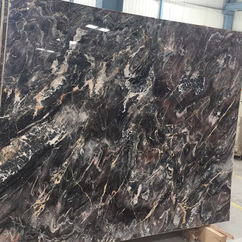 Guiness Red Marble Slabs Polished