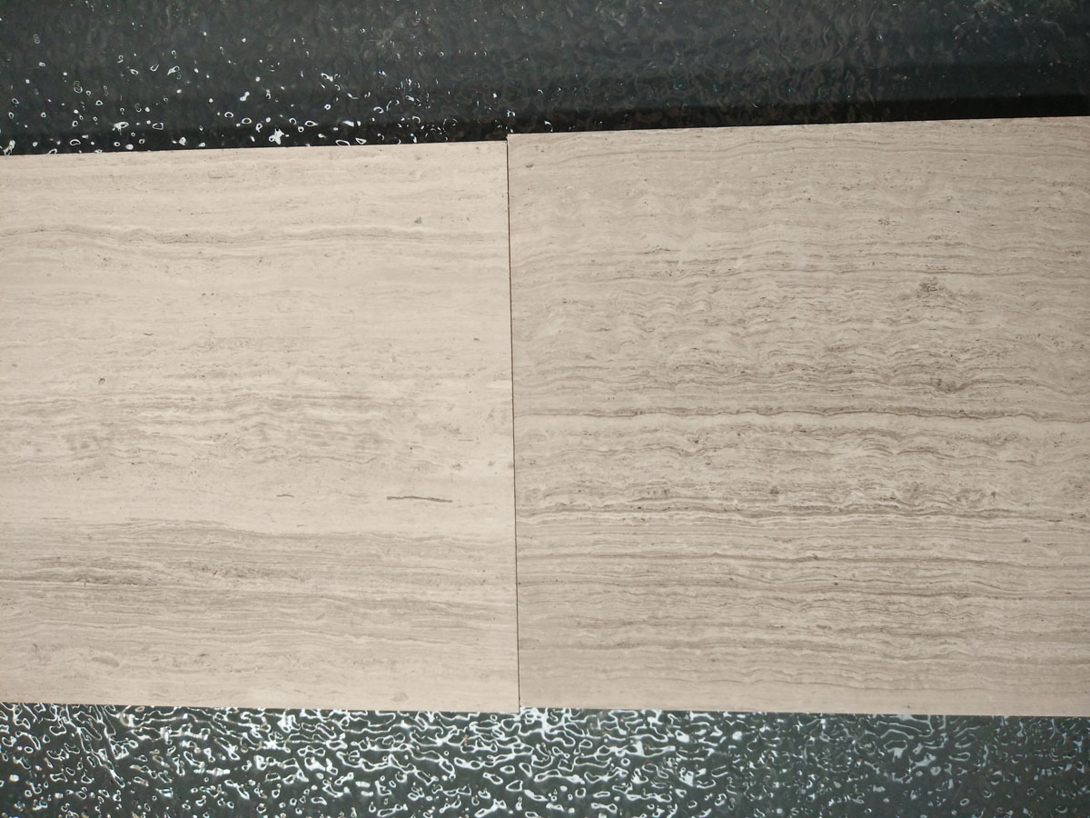 Guizhou Grey Wood Line Marble Tiles