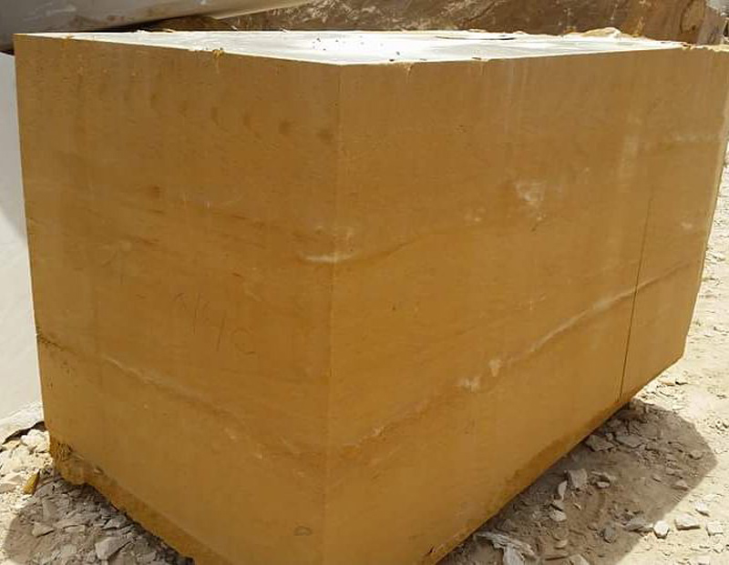 Hajar Stone Blocks Yellow Sandstone Blocks