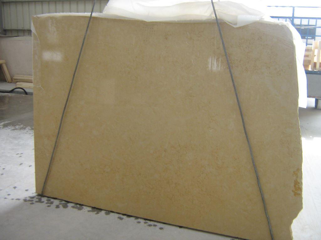 Halil Slab Yellow Limestone Polished Slabs