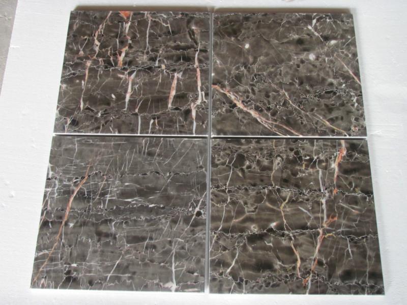 Hang Grey Tiles Polished Grey Marble Flooring Tiles