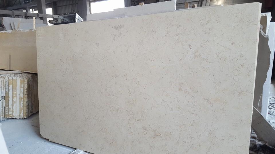 Hebron Cream Limestone Slabs Beige Limestone Slabs