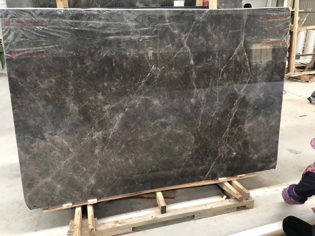 Hermes Ash Marble Slabs High Quality Grey Marble Slabs