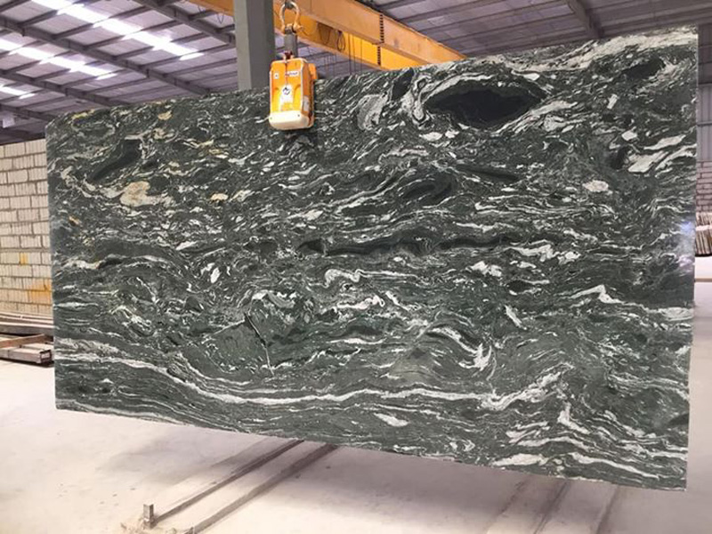 High Quality Black Forest Granite Slabs from India