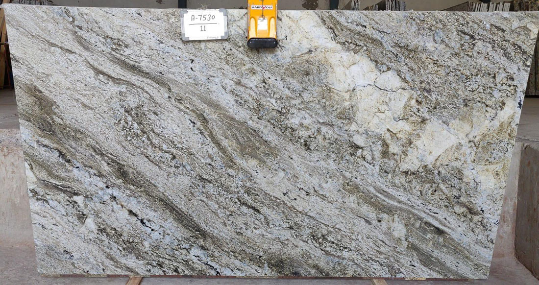 High Quality Blue Dunes Granite Slabs