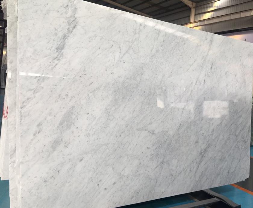 High Quality Carrara White Marble Polished White Marble Slabs