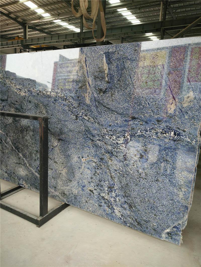 High Quality Dream Blue Granite Polished Slabs