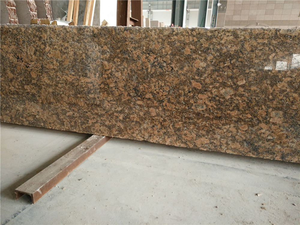 High Quality Giallo Fiorito Granite Brown Polished Countertops