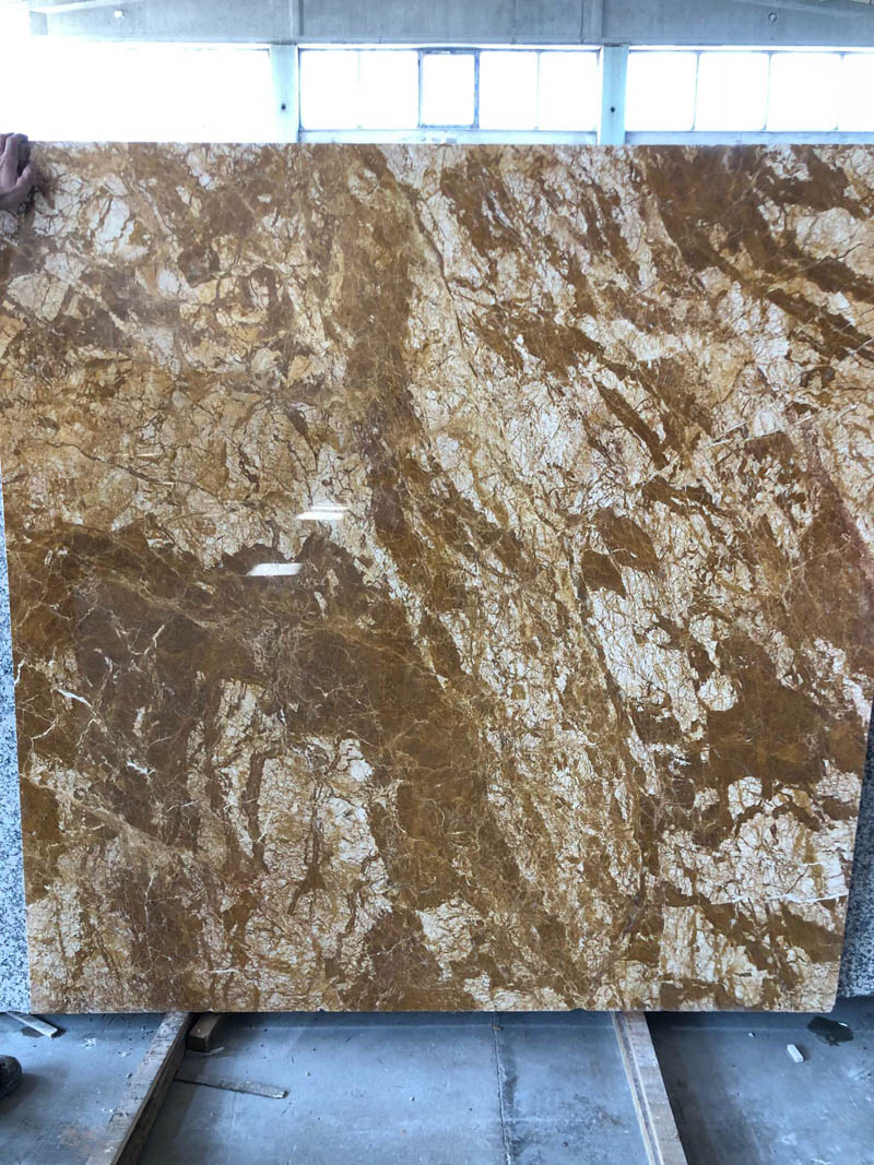 High Quality Golden Marble Slabs