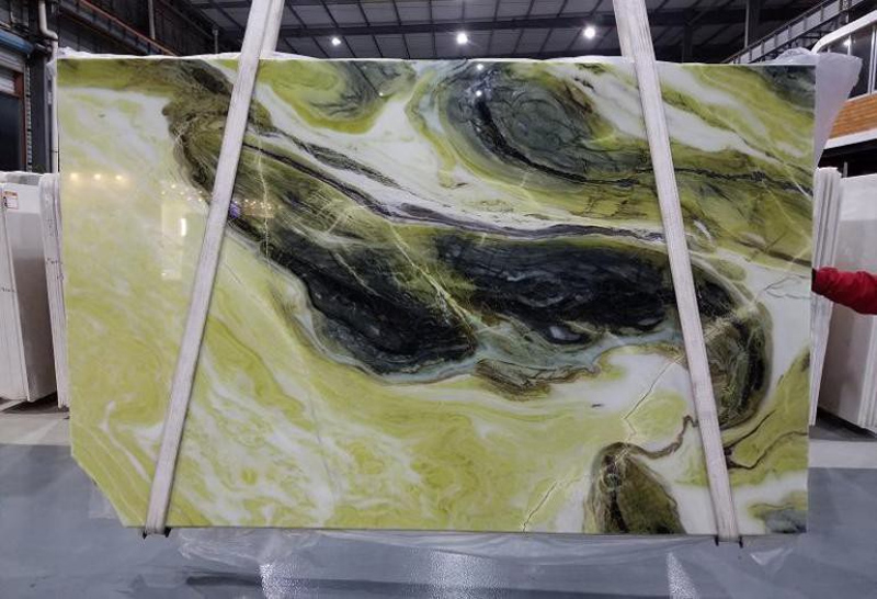 High Quality Green Marble Slabs Dreaming Marble Slabs