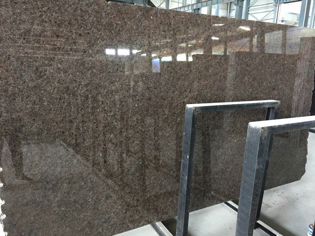 High Quality Imperial Brown Granite Big Polished Slabs