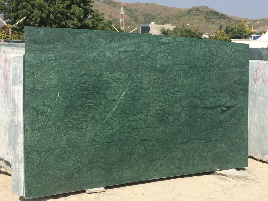 High Quality India Green Marble Slabs