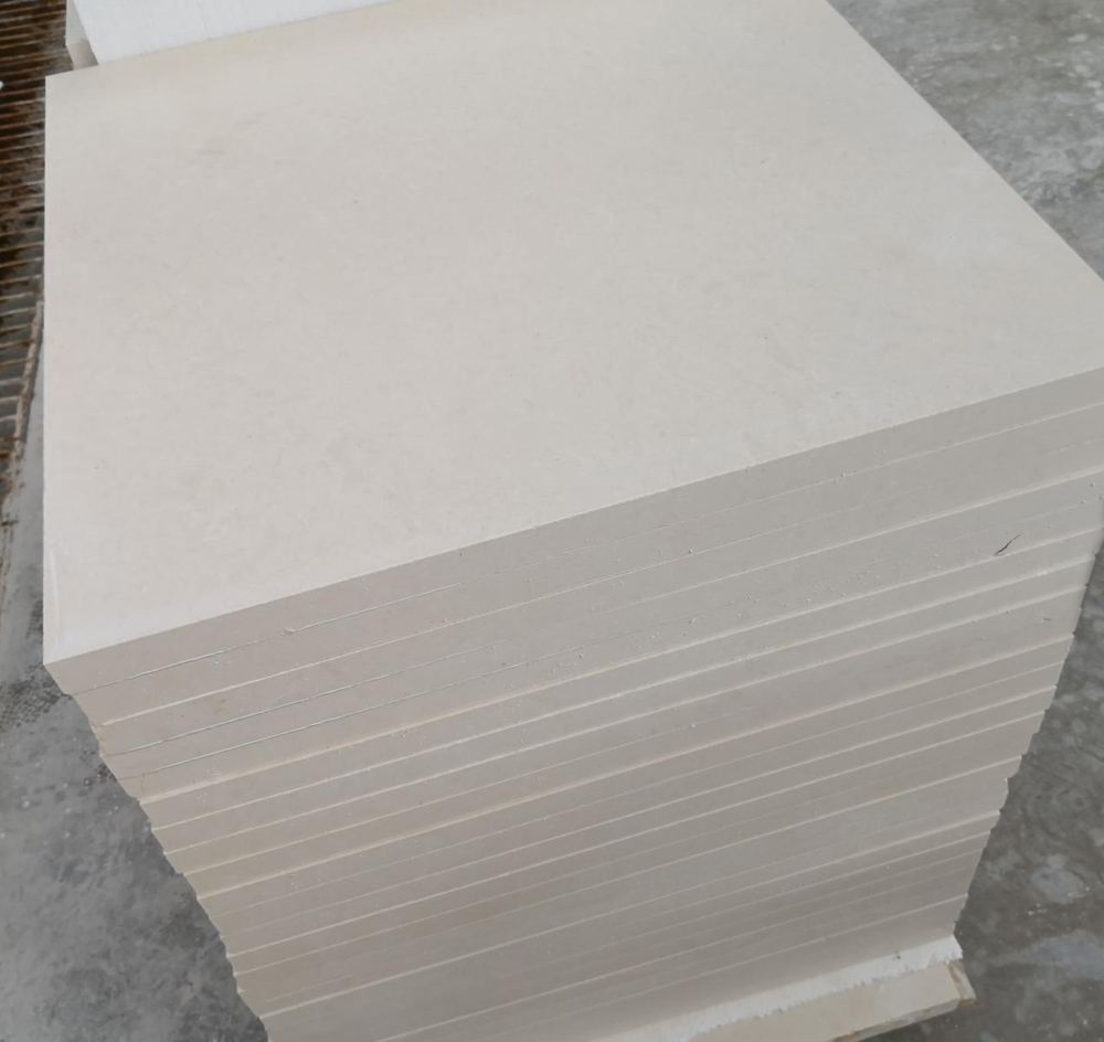 High Quality Limra White Limestone Flooring Tiles
