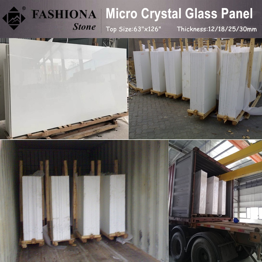 High Quality Micro Crystal Glass Stone Slabs