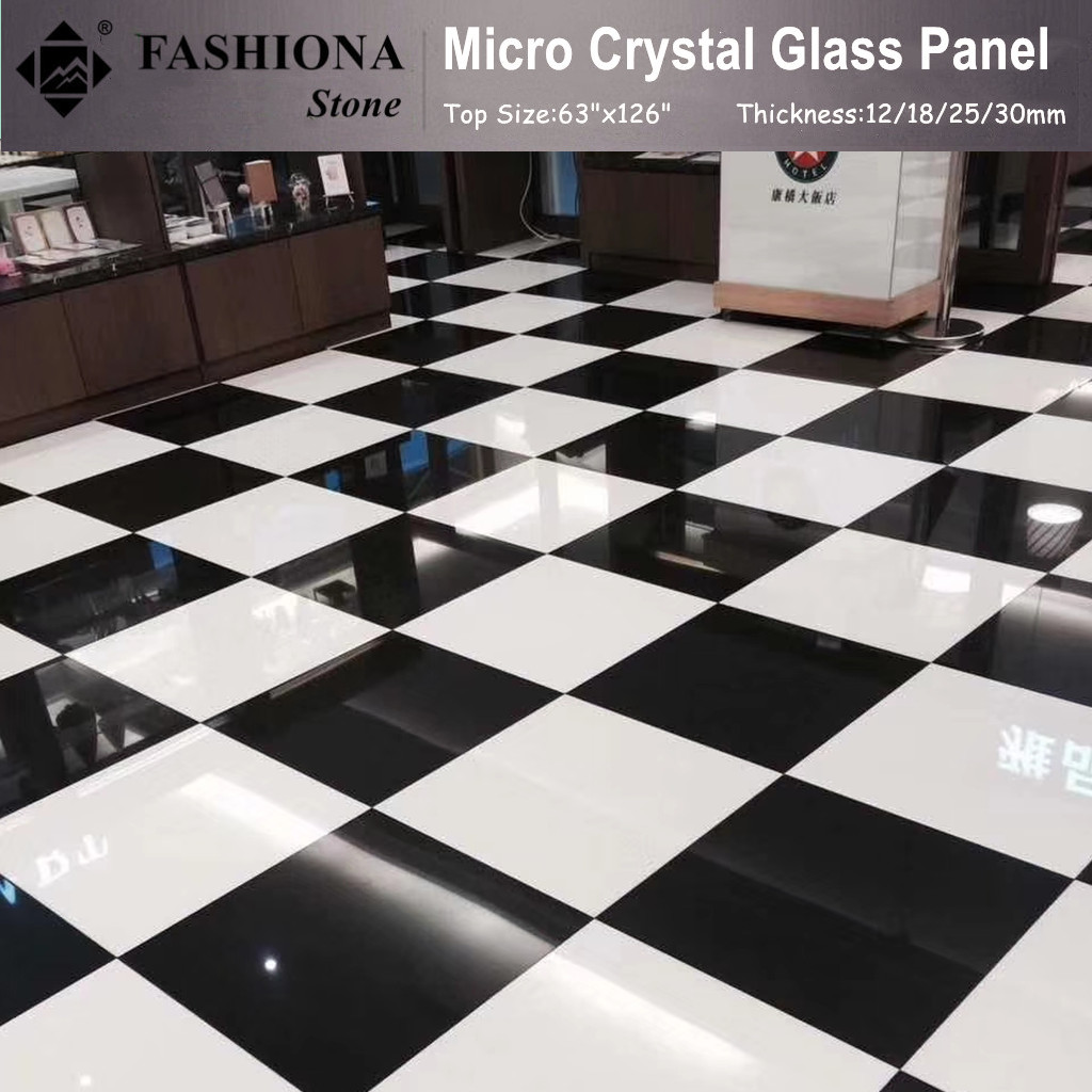 High Quality Micro Crystal Glass Stone Tiles