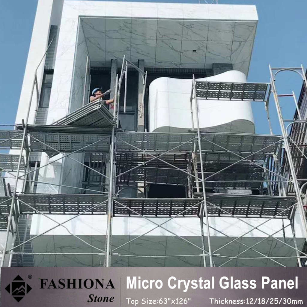 High Quality Micro Crystal Glass Stone for Walling