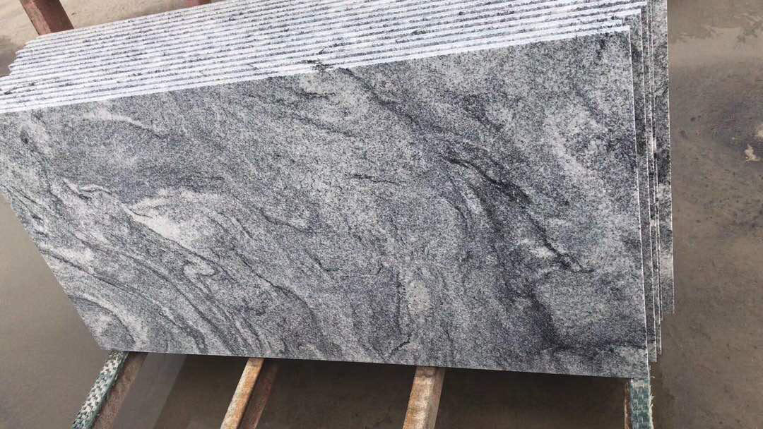 High Quality Polished Fantacy Grey Granite Slabs
