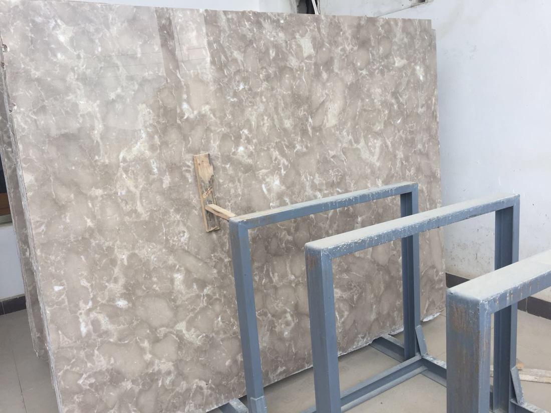 High Quality Polished Persian Grey Marble Slab