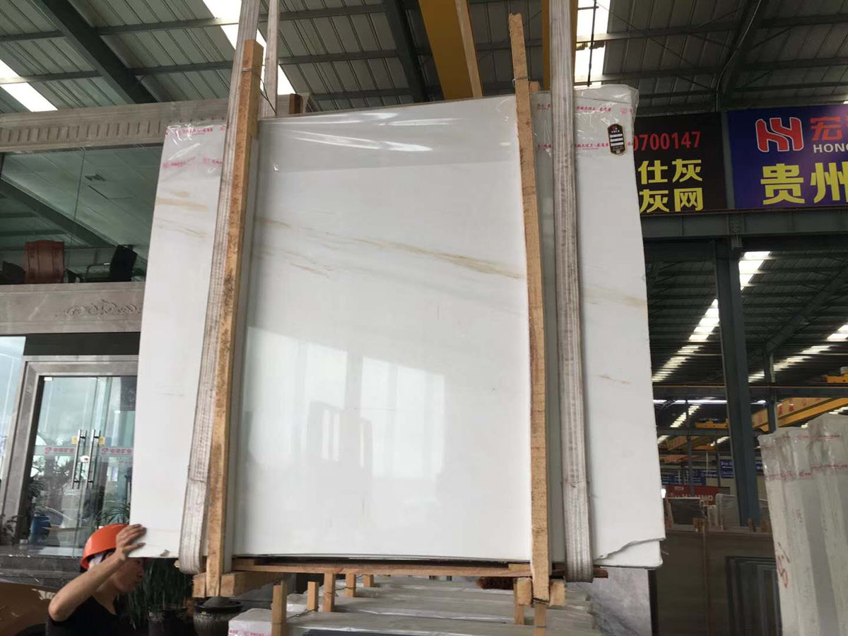 High Quality Polished White Marble Slabs Ariston Marble Slabs