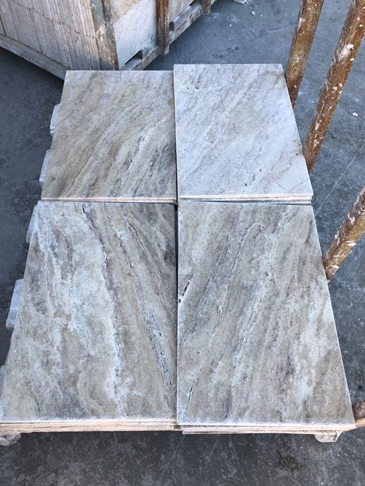 High Quality River Travertine Flooring Tiles