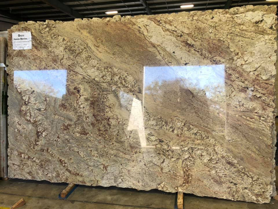 High Quality Sienna Bordeaux Polished Granite Slabs