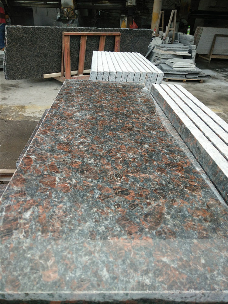 High Quality Tan Brown Granite Countertops for Kitchen Tops