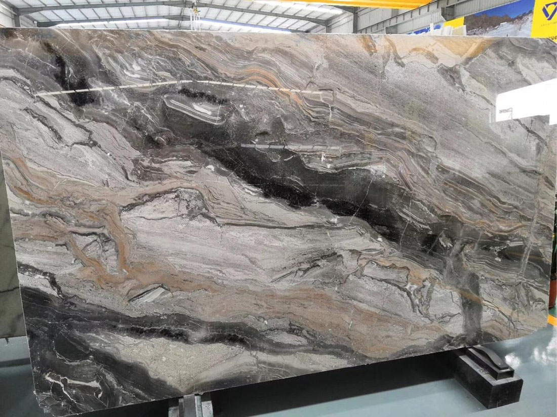 High Quality Venice Brown Marble Slabs Polished Slabs